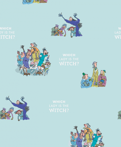 Craft Cotton Co - Roald Dahl Witches - Fabric Collection - 04 Which is the Witch
