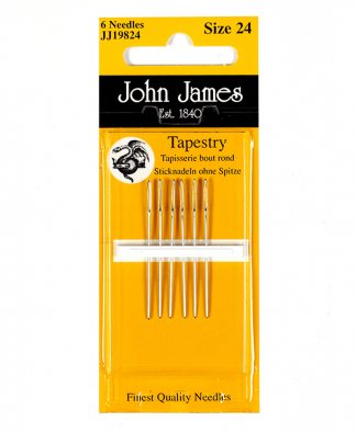 John James Needles - Tapestry Needles