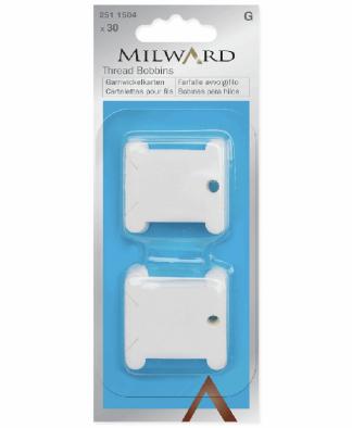 Milward Thread Bobbins - Plastic (2511504)
