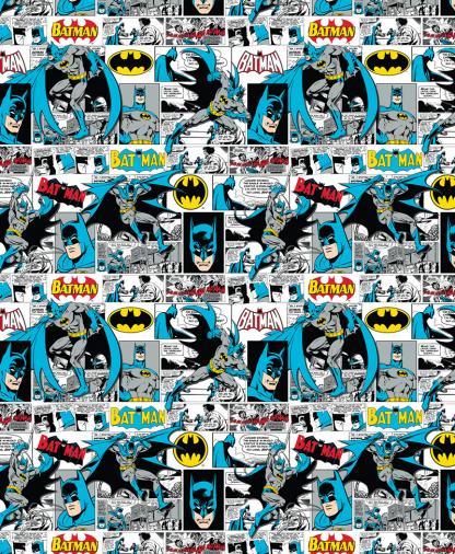 Craft Cotton Co - DC - Fabric Collection - Batman Comic Strip (23200305)