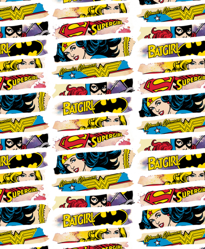 Craft Cotton Co - DC - Fabric Collection - Heroines (23400543)