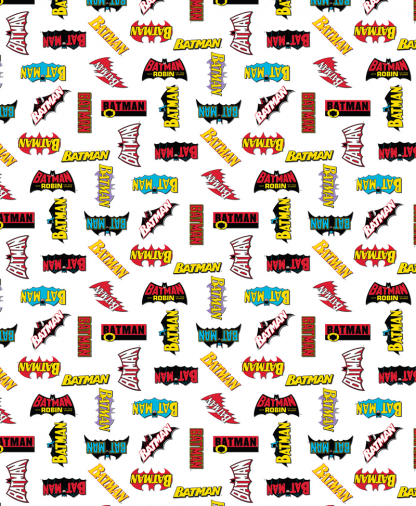 Craft Cotton Co - DC - Fabric Collection - Logo History (23200122)