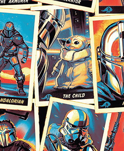 Craft Cotton Co - Star Wars - Fabric Collection - Mandalorian Trading Cards (73800219)