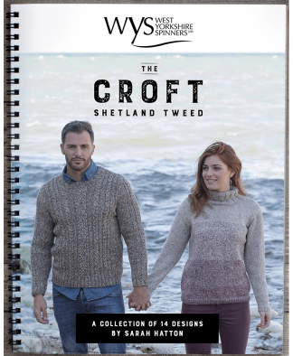 West Yorkshire Spinners - The Croft Shetland Tweed Pattern Book