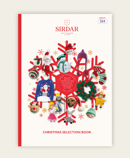 Sirdar 554 Sirdar Christmas Selection Pattern Book