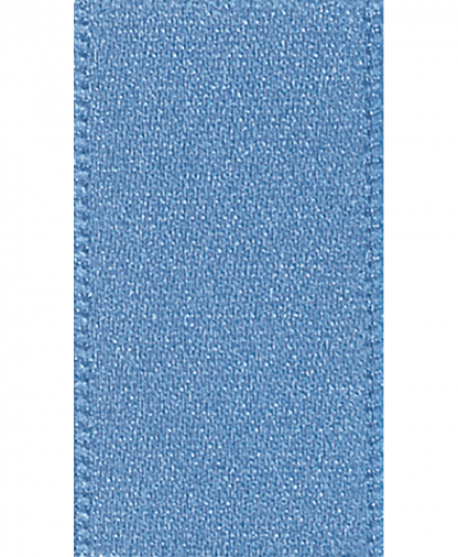 Berisfords Newlife Satin Ribbon - 3mm - Dusky Blue (61)