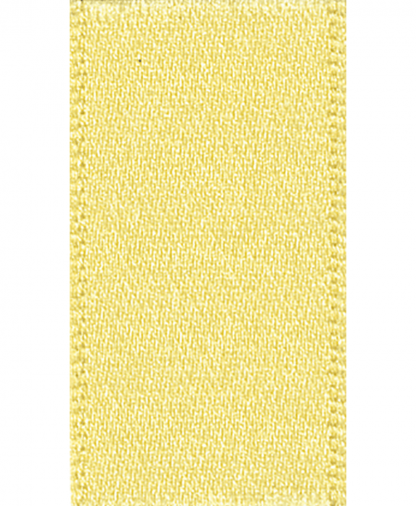 Berisfords Newlife Satin Ribbon - 3mm - Lemon (5)