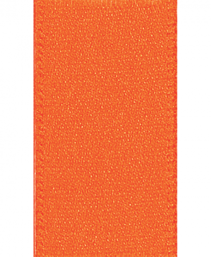 Berisfords Newlife Satin Ribbon - 3mm - Orange (42)