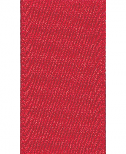 Berisfords Newlife Satin Ribbon - 3mm - Red (250)