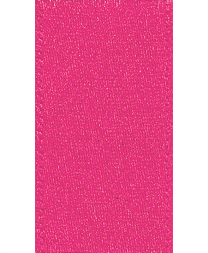 Berisfords Newlife Satin Ribbon - 3mm - Shocking Pink (72)