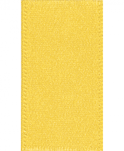Berisfords Newlife Satin Ribbon - 3mm - Yellow (679)