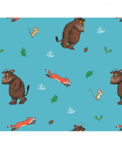 Craft Cotton Co - The Gruffalo Fabric Collection - Fox and Mouse (2667-02)