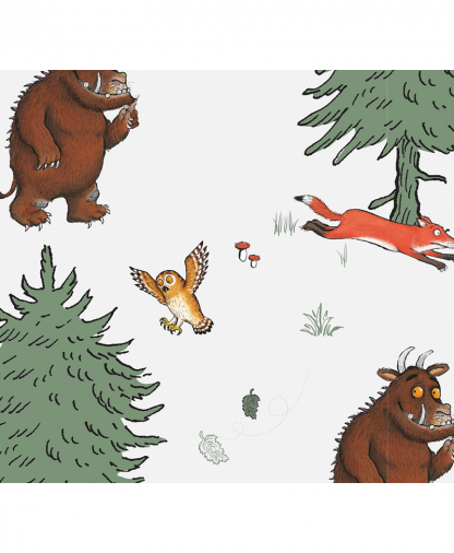 Craft Cotton Co - The Gruffalo Fabric Collection - Walk in the Woods (2667-01)