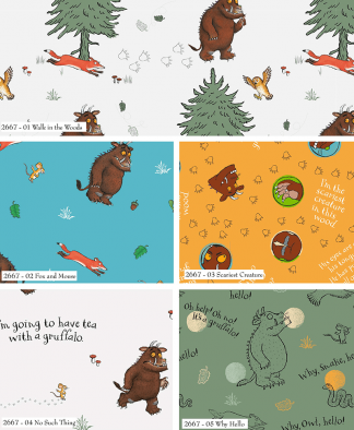 Craft Cotton Co - The Gruffalo Fat Quarters (2667-00)