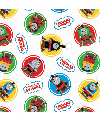 Craft Cotton Co - Thomas and Friends Fabric Collection - Classic (2714-01)