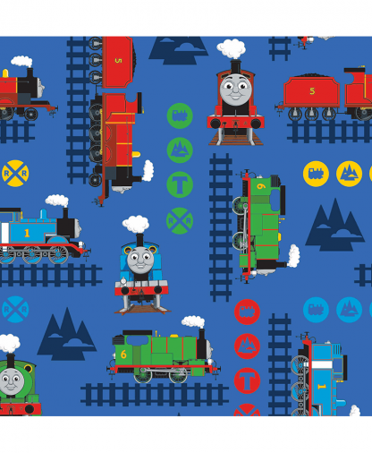 Craft Cotton Co - Thomas and Friends Fabric Collection - Train Adventure (2714-04)