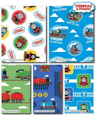 Craft Cotton Co - Thomas and Friends - Fat Quarters (2714-00)