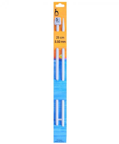Pony Single Point Knitting Needles - 25cm - 5.50mm (P31612)