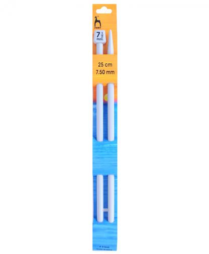 Pony Single Point Knitting Needles - 25cm - 7.50mm (P31666)