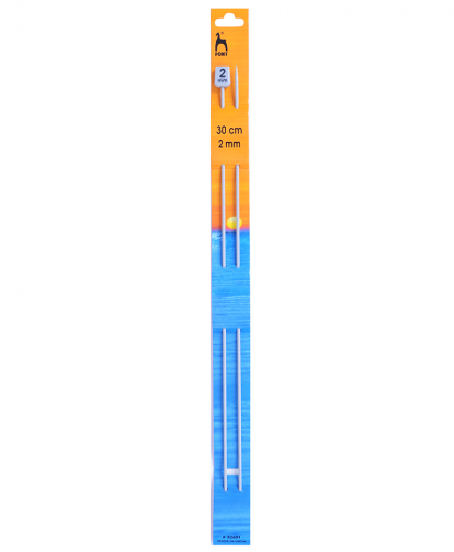Pony Single Point Knitting Needles - 30cm - 2.00mm (P32601)