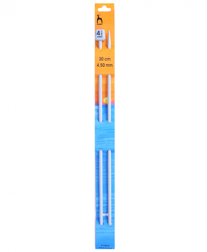 Pony Single Point Knitting Needles - 30cm - 4.50mm (P32610)