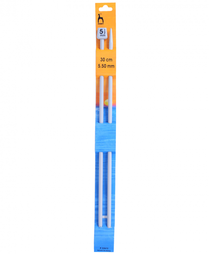 Pony Single Point Knitting Needles - 30cm - 5.50mm (P32612)