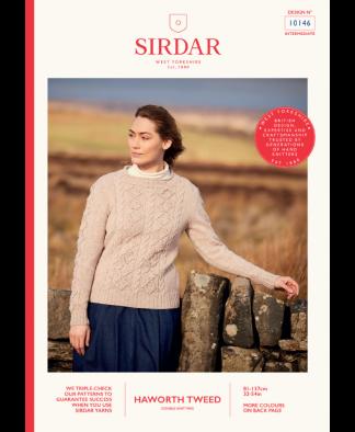 Sirdar_10146_Ladies_Sweater_in_Haworth_Tweed