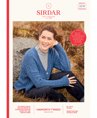 Sirdar_10147_Ladies_Cardigan_in_Haworth_Tweed
