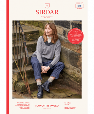 Sirdar_10151_Ladies_V_Neck_Sweater_in_Haworth_Tweed