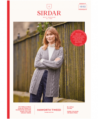 Sirdar_10152_Ladies_Long_Cardigan_in_Haworth_Tweed