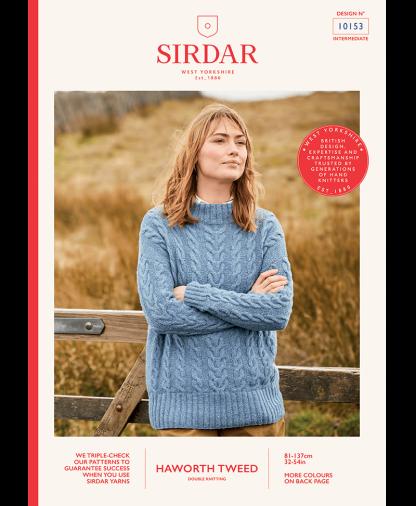 Sirdar_10153_Ladies_Sweater_in_Haworth_Tweed