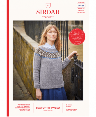 Sirdar_10154_Ladies_Sweater_in_Haworth_Tweed
