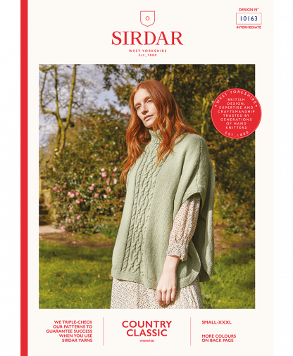 Sirdar_10163_Poncho_in_Sirdar_Country_Classic_Worsted