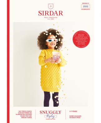 Sirdar_2552_Kids_Dress_in_Snuggly_Replay_DK