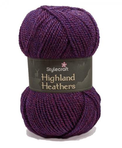 Stylecraft Highland Heathers DK - 100g