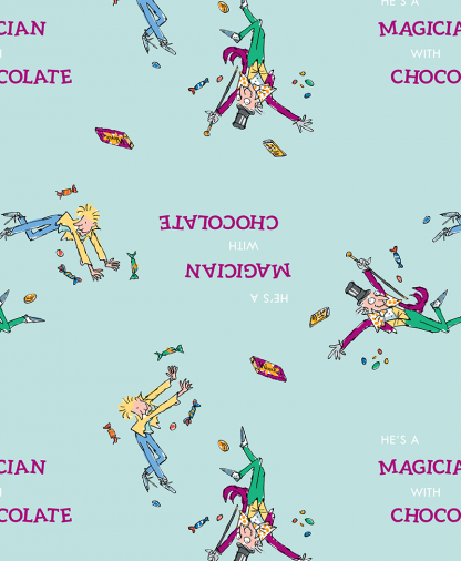 Craft Cotton Co - Roald Dahl Charlie and the Chocolate Factory - 02 Willy Wonka & Charlie (2751-02)