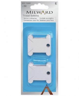 Milward Thread Bobbins - Card (2511503)
