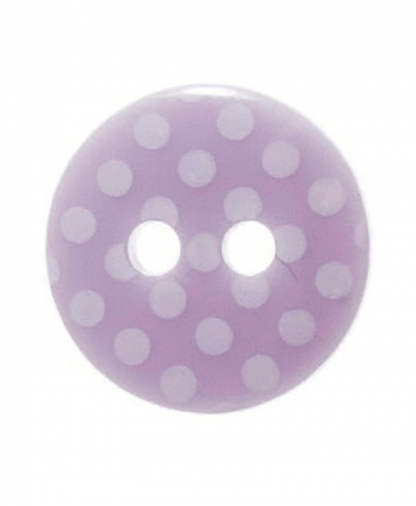 Round Spot Button Size 20 (12mm) - Lilac (31)