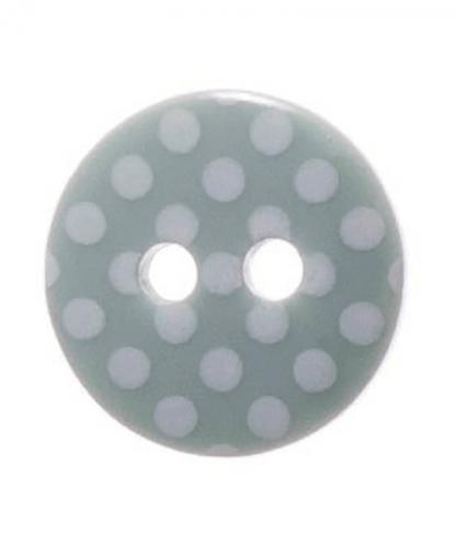 Round Spot Button Size 20 (12mm) - Sage Green (41)