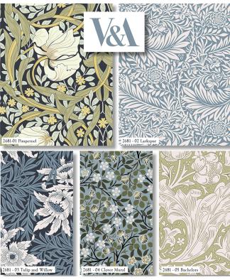 Craft Cotton Co - The V&A William Morris Fat Quarter Bundle
