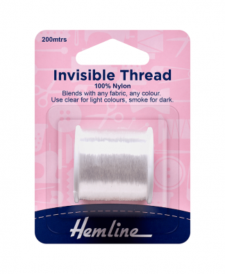 Hemline Invisible Thread Clear (H240)