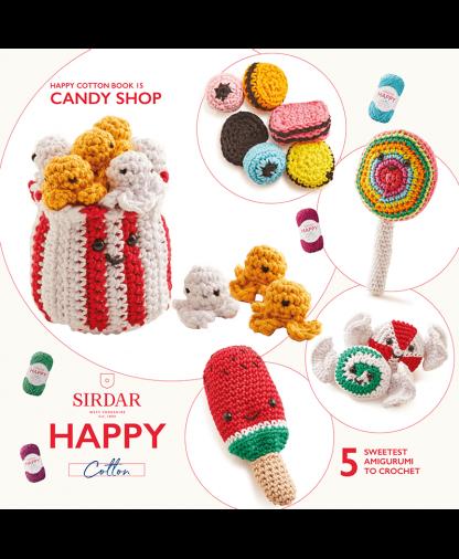 Sirdar Happy Cotton - Book 15 - Candy Shop (BK545)