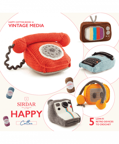 Sirdar Happy Cotton - Book 16 - Vintage Media (BK558)