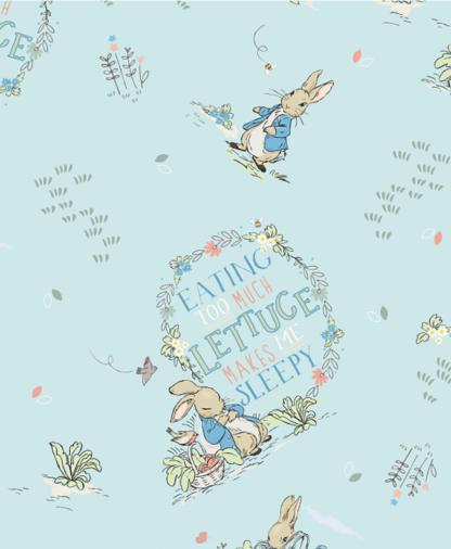 Craft Cotton Co - Peter Rabbit & Friends - Fabric Collection - 03 Sleepy (2812-03)