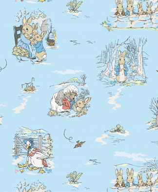 Craft Cotton Co - Peter Rabbit & Friends - Fabric Collection