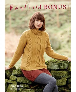 Sirdar 10080 Sweater in Bonus Aran