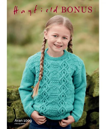 Sirdar 2511 Childs Sweater in Bonus Aran