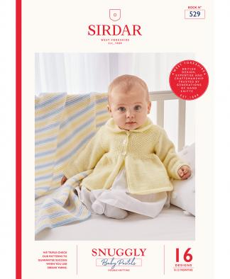 Sirdar 529 Baby Pastels in Snuggly DK (Book)