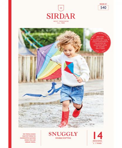 Sirdar 540 Snuggly Kids Brights Book DK