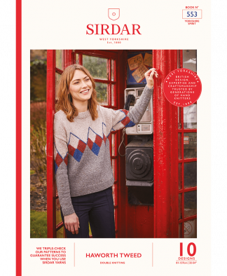 Sirdar 553 Haworth Tweed Yorkshire Spirit (Book)